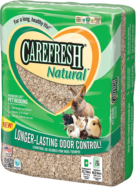 Absorption Carefresh Natural Premium Soft Pet Bedding, 60Liter