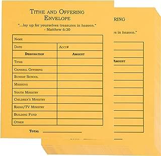 Best order tithing envelopes Reviews