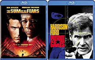Patriot Games & Sum of All Fears [Blu-ray]