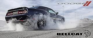 2016 Dodge Challenger Hellcat Poster Srt8 Mopar Large Charger Viper Muscle Burnout