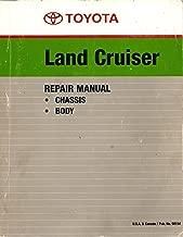 Toyota Land Cruiser Repair Manual, FJ40, FJ43, FJ45, FJ55, BJ40, BJ43, HJ45 Series Chassis and Body Service, 1980 Pub. No. 98154