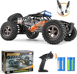 Remote Control Car,1:12 Scale 4x4 RC Cars Protector 38+ kmh High Speed, 2.4 GHz All Terrain Off-Road RC Truck Included 2 R...