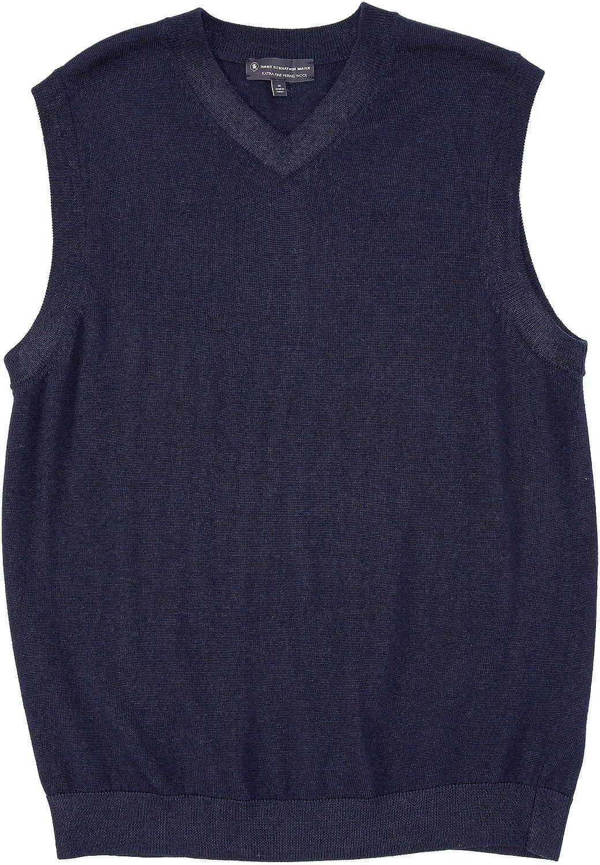 Hart Schaffner Marx Men's Big Tall Extra Fine Merino Wool Sweater Vest