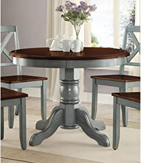 Amazon Com Blue Tables Kitchen Dining Room Furniture