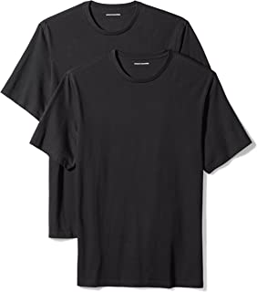 Amazon Essentials Men's 2-Pack Loose-fit Crewneck T-Shirts