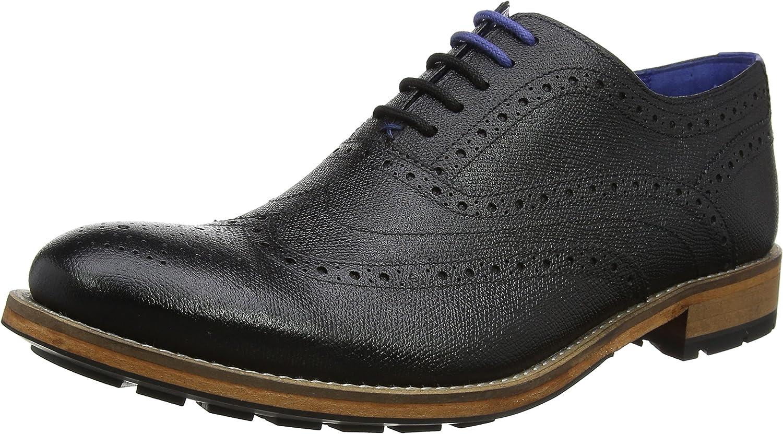 Ted Ted Ted Baker Guri 9 - svart läder herr skor  bästa valet