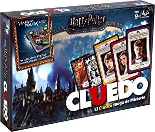 Winning Moves Cluedo Harry Potter 40X26-+9 Años, multicolor