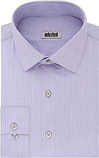 قميص رسمي للرجال من ان ليستيد باي كينيث كول بتصميم عادي ونمط مربعات وخطوط (منقوش)