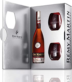 Rémy Martin VSOP Geschenkpackung mit zwei Gläsern 1 x 0.7 l