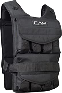 CAP Barbell 20-150 Lb Adjustable Weighted Vest, Regular and Short Options