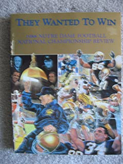 1988 Notre Dame Football National Championship Review - They Wanted to Win