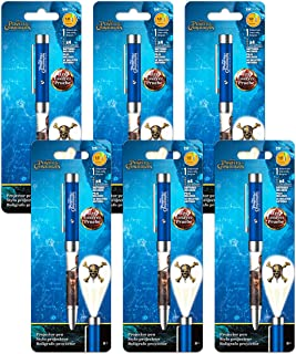 Pirates School Supplies Bulk Pens Bundle - 6 Pack Pirates Projector Pens Office Supplies Pirates Party Decorations (Pirate...
