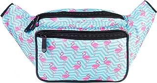 SoJourner Flamingo Fanny Pack - Cute Packs for men, women festivals raves | Waist Bag Fashion Belt Bags