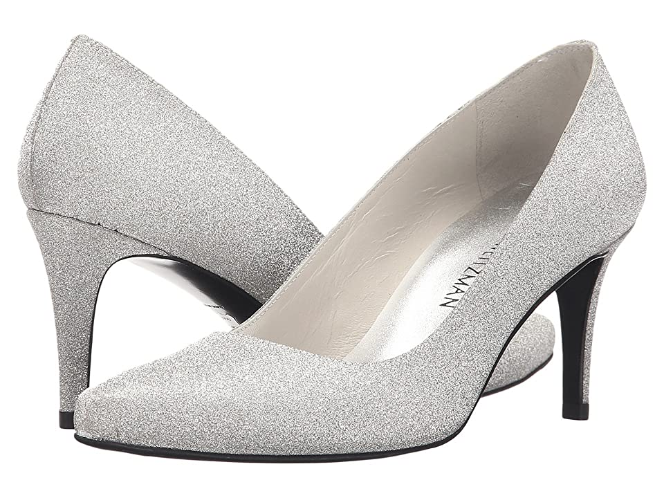 Stuart Weitzman Bridal & Evening Collection Tessa (Argento Glitterati) High Heels