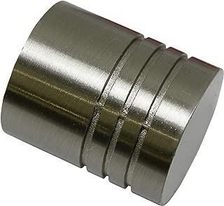 Brass /& Metal B/&M Finiale Adatto per Asta da 19 mm di Diametro Finitura in Ottone Lucido Acorn in Ottone Massiccio 19 mm