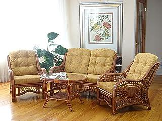 Amazon.com: Rattan - Living Room Sets / Living Room Furniture: Home ...