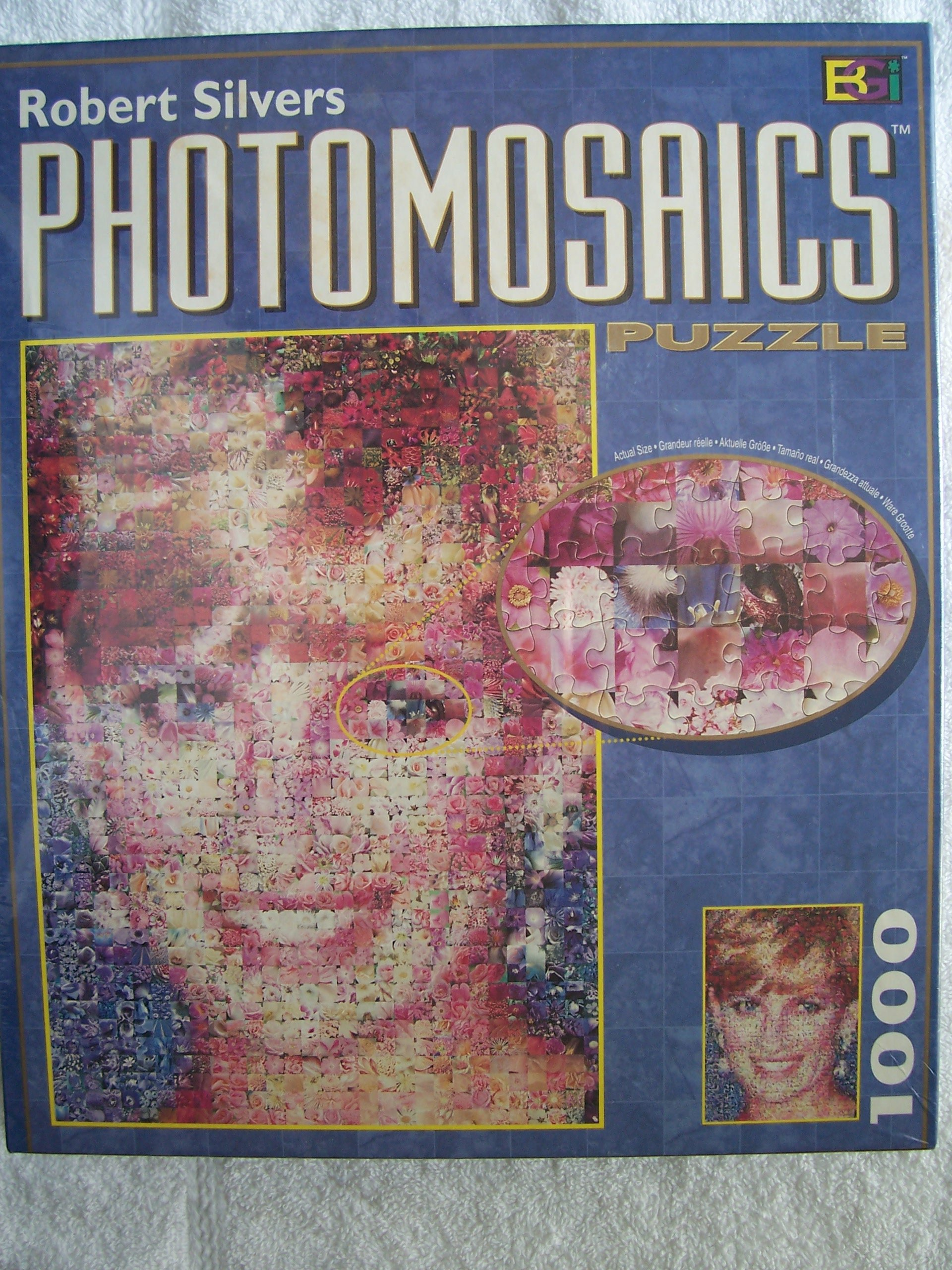 Photomosaic Jigsaw Puzzle Diana Amazon Sg Toys Games