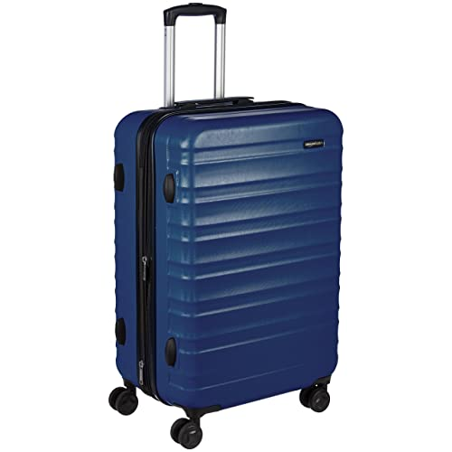 d9a7fea31 AmazonBasics Hardside Spinner Luggage - 24-Inch