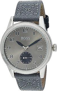 Hugo Boss Mens Quartz Watch, Chronograph Display and Textile Strap 1513683