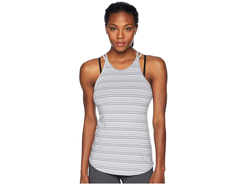 New Balance Transform Luxe Tank Top (Black/White) Women