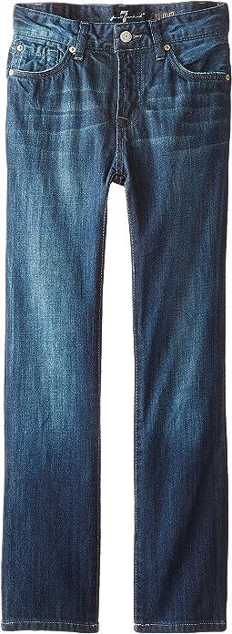 7 For All Mankind Kids - The Slimmy Jeans Dark Indigo in Los Angeles Dark (Toddler)