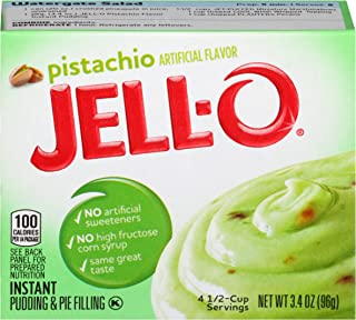 JELL-O Instant Pistachio Pudding & Pie Filling Mix (3.4 oz Box)