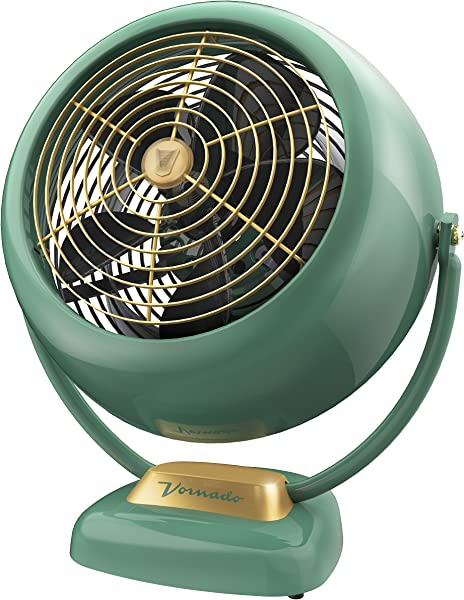 Vornado VFAN Sr Vintage Air Circulator Fan Green