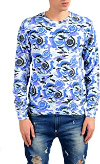 Collection Men's Graphic Print Crewneck Sweater US L IT 52