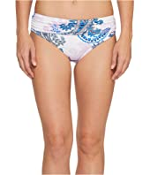 Tommy Bahama - Paisley Leaves High-Waist Sash Bikini Bottom