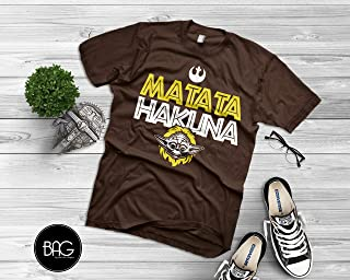 Star Wars Hakuna Matata Disney Shirt for men and women yoda Shirt - Mickey Mouse - Gift For Him or Gift For Her!