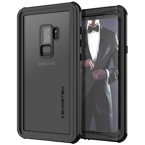3aa8f86f1 Ghostek Nautical Full Body Waterproof Case Compatible with Galaxy S9 Plus -  Black