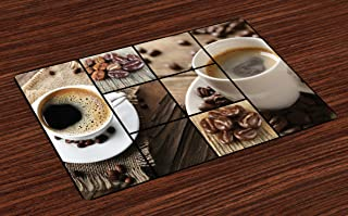 Best coffee themed placemats Reviews