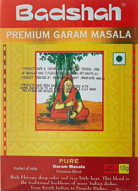 Badshah, Premium Garam Masala, 100 Grams(gm)