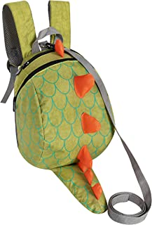 ZuiKyuan Toddler Kids Dinosaur Backpack With Anti-lost Safety Leash for Boys Girls