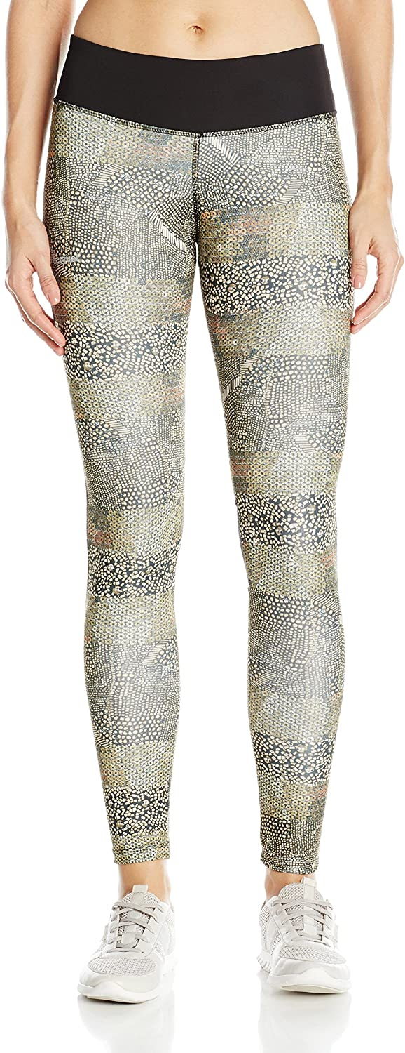 Desigual Womens' Sport Long Tight with Mesh Denim Luxury,