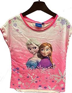 Suncity Camiseta Frozen 4 AÑOS Rosa