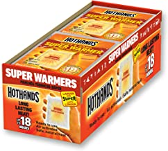 HotHands Body & Hand Super Warmers - Long Lasting Safe Natural Odorless Air Activated Warmers - Up to 18 Hours of Heat - 4...