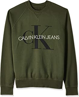 Calvin Klein J30J313222 Sweatshirt Man Green XL