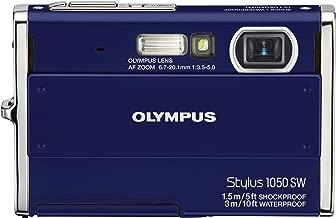 Olympus Stylus 1050SW 10.1MP Digital Camera with 3x Optical Zoom (Blue)