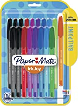 Paper Mate InkJoy 100ST Ballpoint Pens, Medium Point, 1.0mm, Assorted Colors, 18 Count (1987341)
