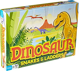 Dinosaur Snakes & Ladders Game