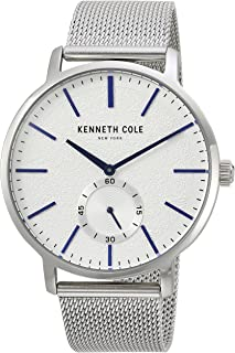 Kenneth Cole Men's White Dial Stainless Steel Band Watch - KC50055002
