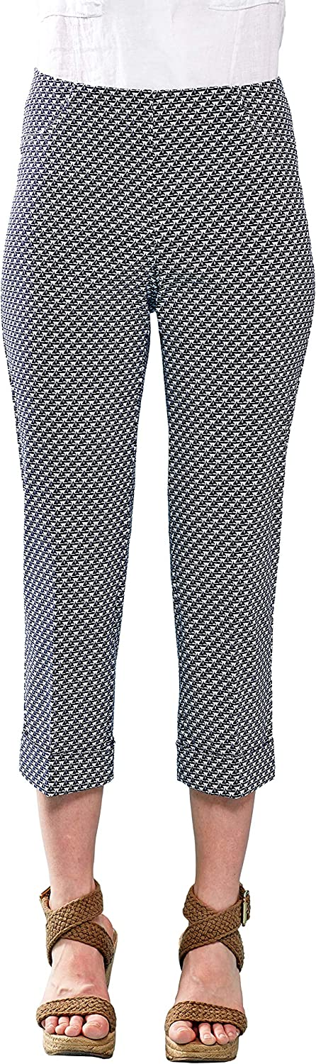 Lena Gabrielle Sales results No. 1 Women's Spring Stretch Cropped -Navy Sails Many popular brands Pants