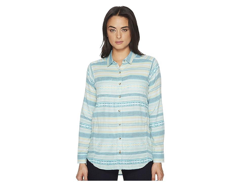 Toad&Co Cairn Long Sleeve Shirt (Deepwater) Women
