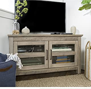 Home Accent Furnishings New 44 Inch Corner Television Stand - Grey Wash Color