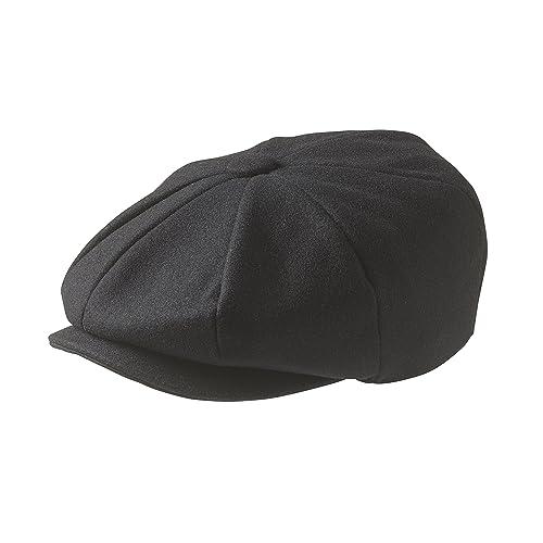 2aa2df7b Peaky Blinders 'Newsboy' Style Flat Cap -100% Wool