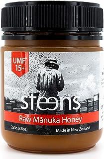 Steens (スティーンズ) 100%天然 生 非加熱 マヌカハニー UMF15+ (MGO400 以上 ~514+) 250g (250g)