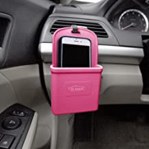 FH Group FH3022BABYPINK Baby Pink Silicone Car Vent Mounted Phone Holder (Smartphone works with IPhone Plus Galaxy Note Baby Pink Color)