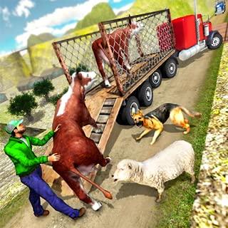 Offroad Truck Driver Animal Transport Simulator