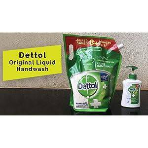 Dettol Original Germ Protection Handwash Liqu...